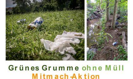 Müllsammeln in Grumme